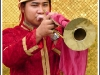 Musician in the kings palace, Bangkok